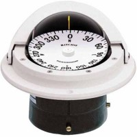 Ritchie F-82W White Voyager Compass Flush Mount