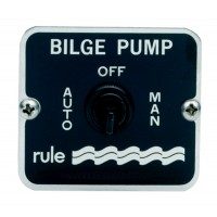 Rule 3-Way Panel Switch Automatic, Manual, Off 12-36 V