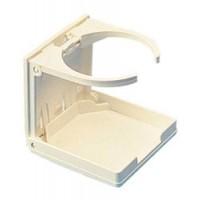 Sea-Dog Adjustable Folding Drink Holder - White