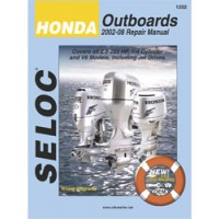 Seloc Engine Manual Honda Outboards - 2002-2008