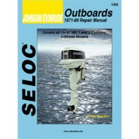 Seloc Engine Manual Johnson Evinrude Outboards - 1971-1989