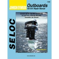 Seloc Engine Manual Johnson Evinrude Outboards - 1973-1991