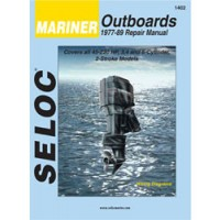Seloc Engine Manual Mercury Mariner Outboards - 1977-1989
