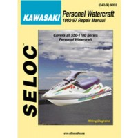 Seloc Engine Manual Kawasaki Personal Watercraft 1992-1997