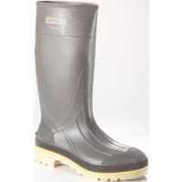 "Servus Gray Pro & Steel Toe Boots 15"" High"