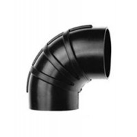 Shields Hump Hose Connector 90 Degree Elbow - 4-1/2""