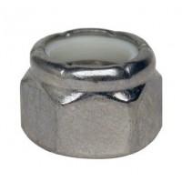 "Stainless Steel Lock Nut Fine Thread - 7/16""-20"