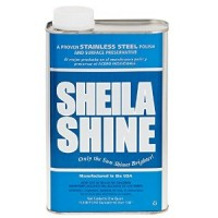 Shiela Shine Stainless Steel Cleaner & Polish - 1 Quart Can