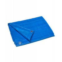 Poly Tarp Cover Blue 15X25
