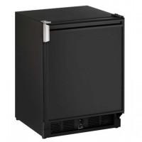 U-Line Combo Icemaker/Refrigerator - Black