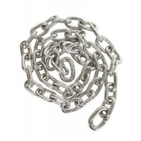 "Whitecap Anchor Chain Stainless Steel 1/4"" X 5'"