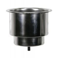 Whitecap Drink Holder Recessed Stainless Steel