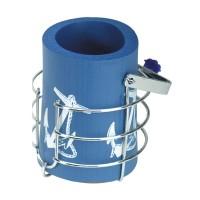 Whitecap Drink Holder w/ Foam Insulator C.P. Brass