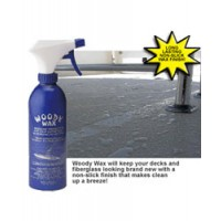 Woody Wax Fiberglass & Non-Skid Deck Wax - 16 Ounce