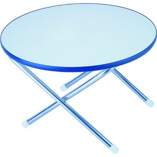 Garelick Folding Deck Table Round Top 24 Inch