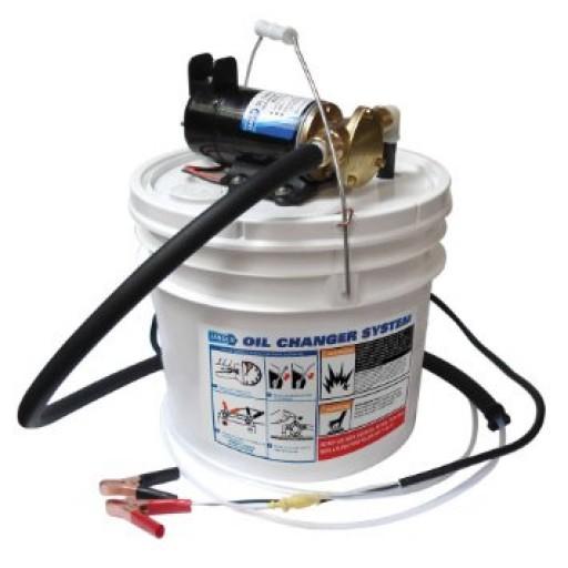 Jabsco Porta Quick Oil Changer Pump w/ Bucket 12VDC