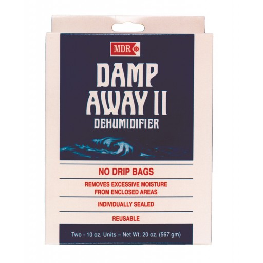 MDR Damp Away Dehumidifier Hanging Bags - Twin Pack