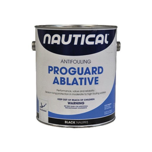 Nautical Proguard Ablative Antifouling Paint Gallon Black