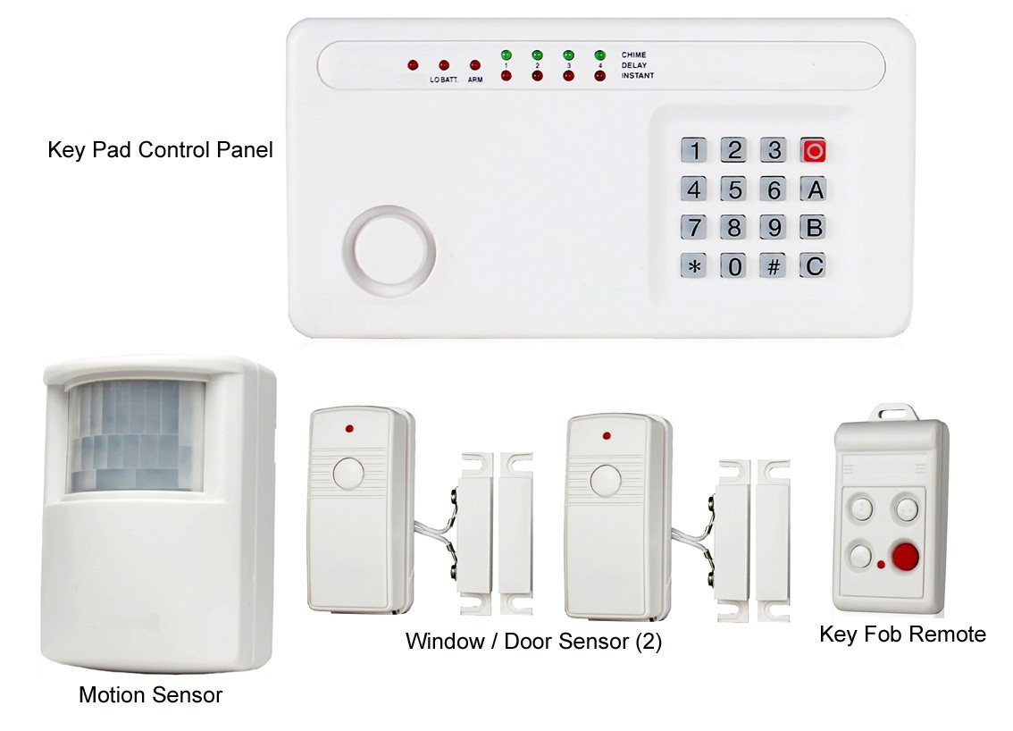 low cost burglar alarm for boats electricity site