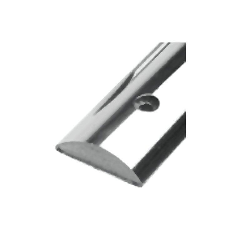 Taco Rub Rail Stainless Steel Solid Half Oval 1 2 Quot X 12