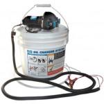 Jabsco Economy Oil Change Pump w/ Bucket 12 V