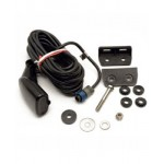 Lowrance Transducer Plastic Transom Mount Dual Frequency