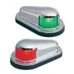 Perko Side Lights Red & Green Chrome Plated Brass