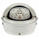 Ritchie S-87W White Voyager Compass Surface Mount