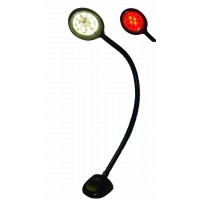 Aqua Signal Gaborone Red/White LED Flexible Reading Light