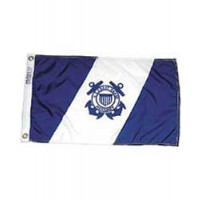 "Annin USCG Auxiliary Ensign 15"" X 24"" Nyl-Glo"