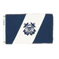 Annin US Coast Guard Auxiliary Ensign Flag