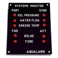Aqualarm Engine Panel Twin