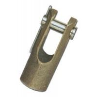 Buck Algonquin Clevis - Bronze
