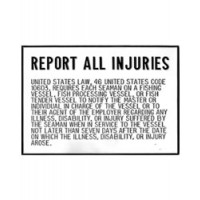 Bernard Engraving Plaque Report All Injuries