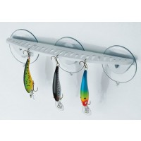 "BoatMates Hook Rack 12"" 25 Baits & One Knife Holder"