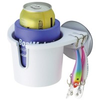 BoatMates Drink Holder Plus Holds Lures & Pliers