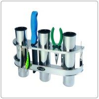 BoatMates Rod Holder Triple Stainless Steel