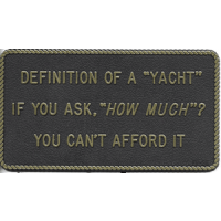 Bernard Engraving Definition of A Yacht