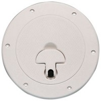 "Bomar Deckplate 10-1/2"" Cut Out - White"