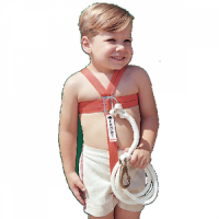 Cal-June Child Safety Harness w/ Stainless Steel Hardware