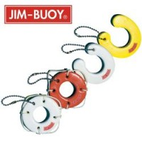 Cal-June Key Chain Miniature Horseshoe Yellow