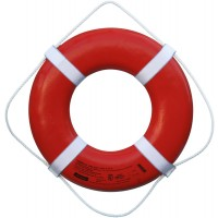 Cal-June Ring Buoy Orange w/ Reflective Tape