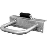 Dock Hardware Piling Hoop & Roller Assembly