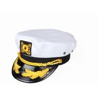 Dorfman Pacific Nautical Hat-White Plastic Snapback