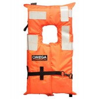 Flat Adult Life Vest Commercial Offshore Type I
