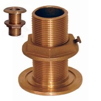 Groco Bronze Thru-Hull 1""