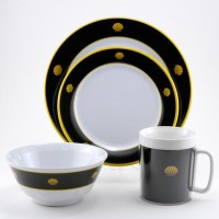 Galleyware Box Set w/ Plates, Bowls & Mugs - Commodore