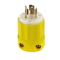 Hubbell 20 Amp 125 V Twist Lock Plug