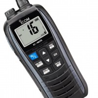 Icom M25 Floating Handheld VHF Radio - Metallic Gray