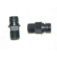 "Jabsco Snap-In Port Adapter 1/2"" NPT Thread-Two/package"